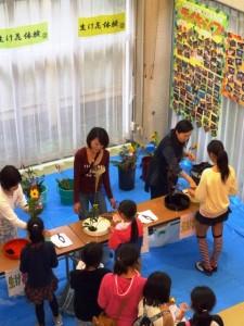 生け花教室(2)
