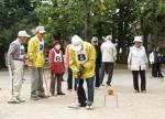 江古田地区まつり2015ゲートボール大会